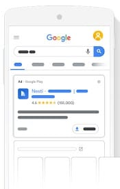 google app ads screenshot